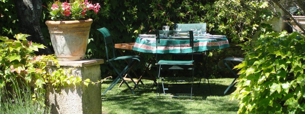Greg's Garden, part of the gardens at Villa La Cotriade