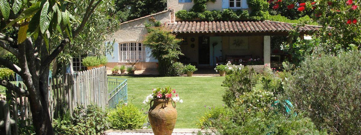 View of Villa La Cotriade from the Parterre in the Gardens