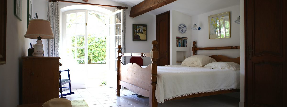 Master Bedroom at Villa La Cotriade