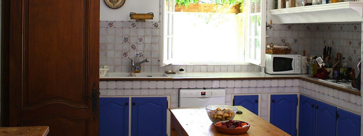 Villa La Cotriade Kitchen View 2
