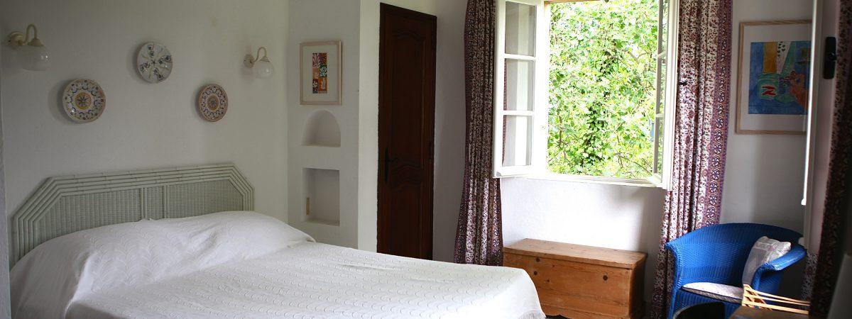 Upstairs Double Bedroom no.3 at Villa La Cotriade